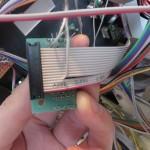 Das Kabel an PIN 5 wurde getrennt und herausgeführt.