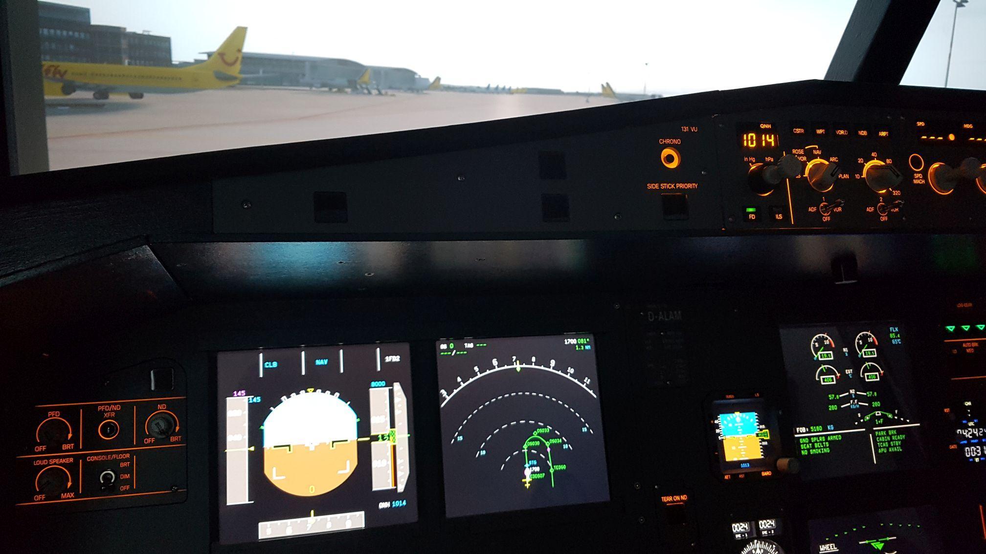 D-ALAM (A320 Homecockpit) – aviation pero-online de